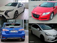 Hibridiniai automobiliai: metas pamiršti mitus
