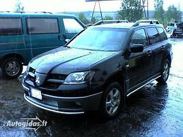 Mitsubishi Outlander I  Visureigis