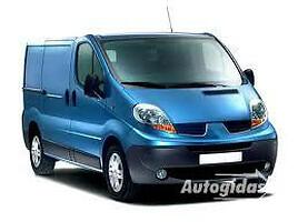 Renault Trafic   Krovininis mikroautobusas