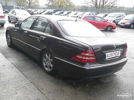 Mercedes-Benz S 430 W220, 2001y.