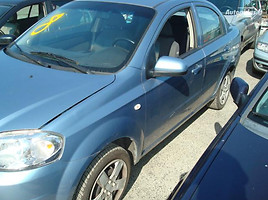 Chevrolet Aveo  EUROPA Sedanas