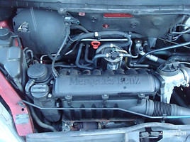 Mercedes-Benz A 170 W168 Europa odinis salona, 2001m.