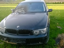 BMW 745 E65/66  Sedanas