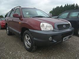 Hyundai Santa Fe, 2003m.