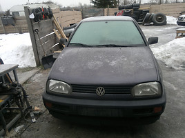 Volkswagen Golf III 1.4 44 kw, 1993г.