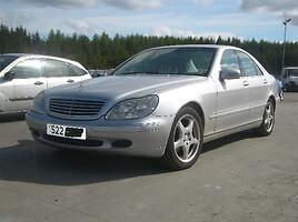 Mercedes-Benz S Klasė  benzas