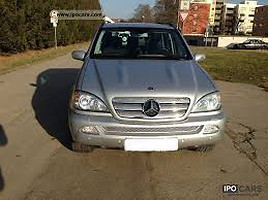 Mercedes-Benz ML Klasė ML 166  Visureigis