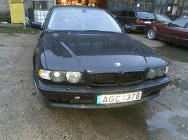 BMW 740 E38 PILNA KOMPLEKTACIJA  Sedanas
