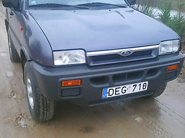 Ford Maverick  TD Visureigis