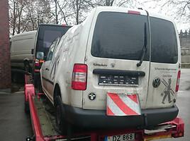Volkswagen Caddy III 77kw 1,9tdi/ 80 t.km, 2011m.