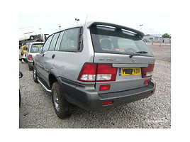 Ssangyong Musso, 2001m.