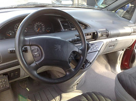 Peugeot 806 Benzinas Dyzelis, 1997m.