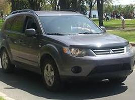 Mitsubishi Outlander II  Visureigis
