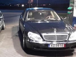Mercedes-Benz S 500 W220 151000 rida  Sedanas