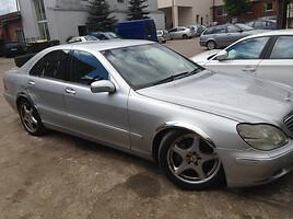 Mercedes-Benz S 320 W220, 2001m.