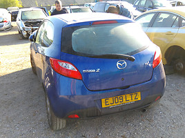 Mazda 2 II  Hečbekas