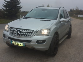 Mercedes-Benz ML Klasė ML 166 4.0 cdi