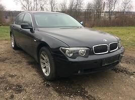 BMW 735 E65/66  Sedanas