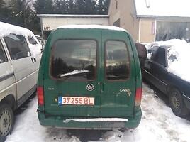 Volkswagen Caddy II 1.9 sdi vokiskas Kombi mikroautobusas