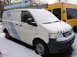 Volkswagen Transporter T5 1,9 TD / 77kw/  Krovininis mikroautobusas