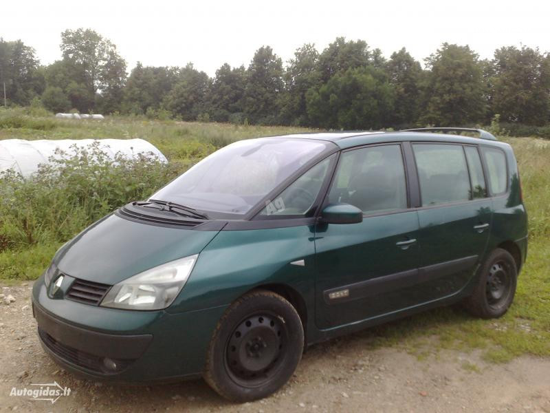 Renault Espace IV 2.2DCI, 2004m.