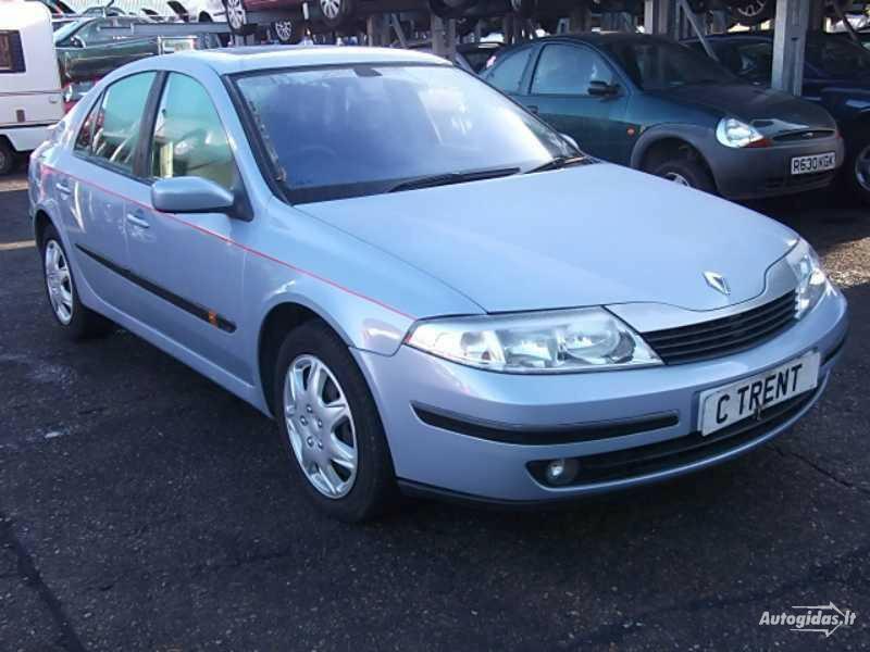 Renault Laguna II, 2002y.