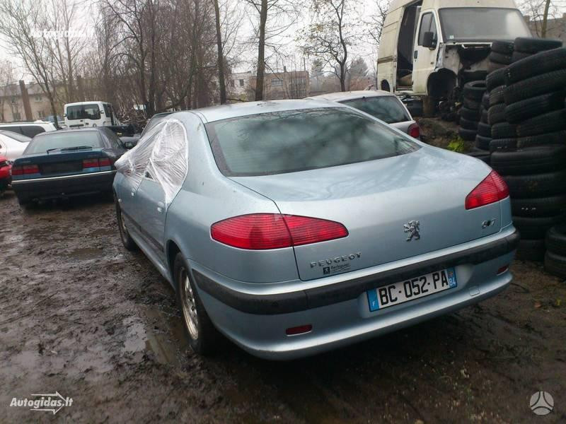 Peugeot 607, 2002m.
