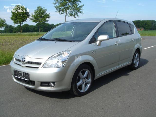 Toyota Corolla Verso D-CAT, 2008m.
