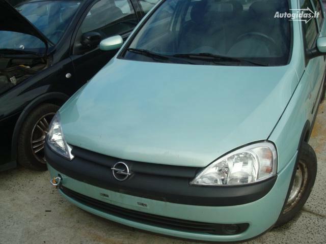 Opel Corsa C automatas europa iš , 2002y.