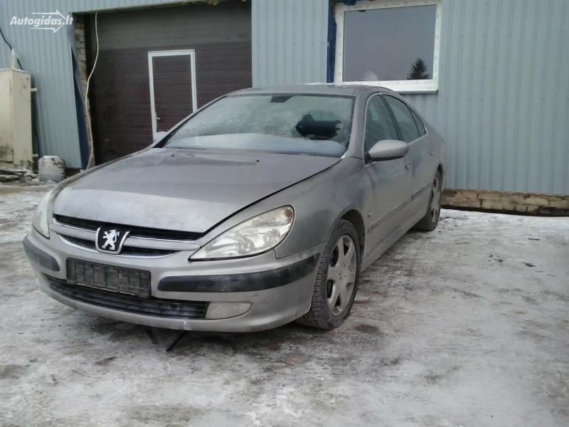 Peugeot 607, 2001m.