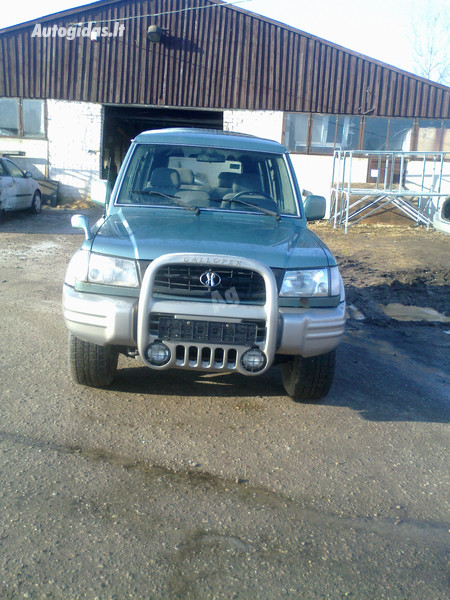 Hyundai Galloper, 1999m.