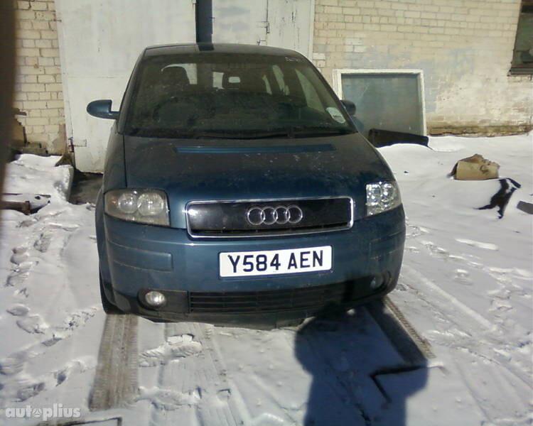 Audi A2, 2002m.