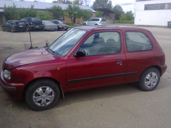 Nissan Micra K11, 1996m.