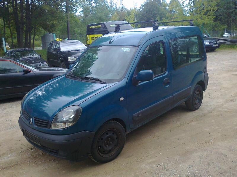Renault Kangoo II, 2005m.