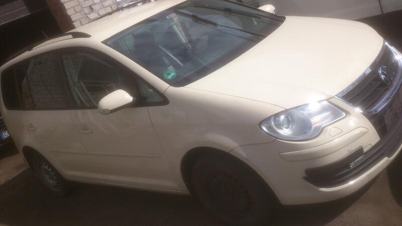 Volkswagen Touran I 1.9tdi bls dsg jpl, 2008m.