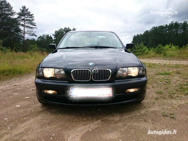 BMW 325 E46 e46 dviejų vanusu, 1999m.