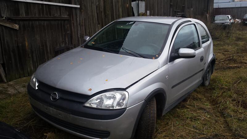 Opel Corsa C, 2002y.