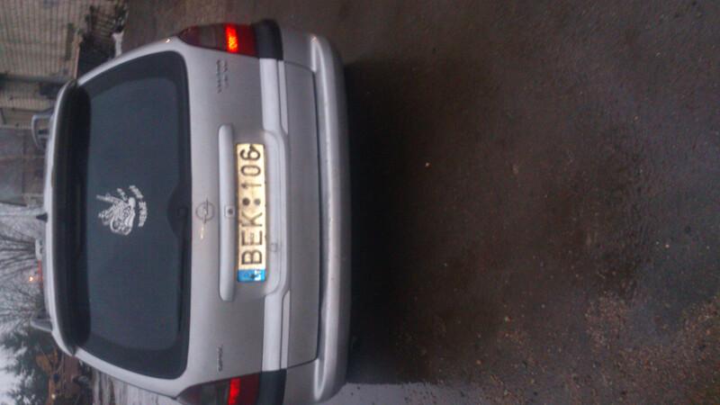 Opel Vectra B 2.0 ecotek, 1998m.