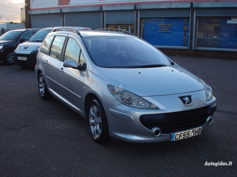 Peugeot 307 II 1,6 HDI, 2007y.