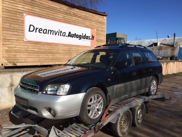 Subaru OUTBACK II 2,5 Automatic, 2002m.