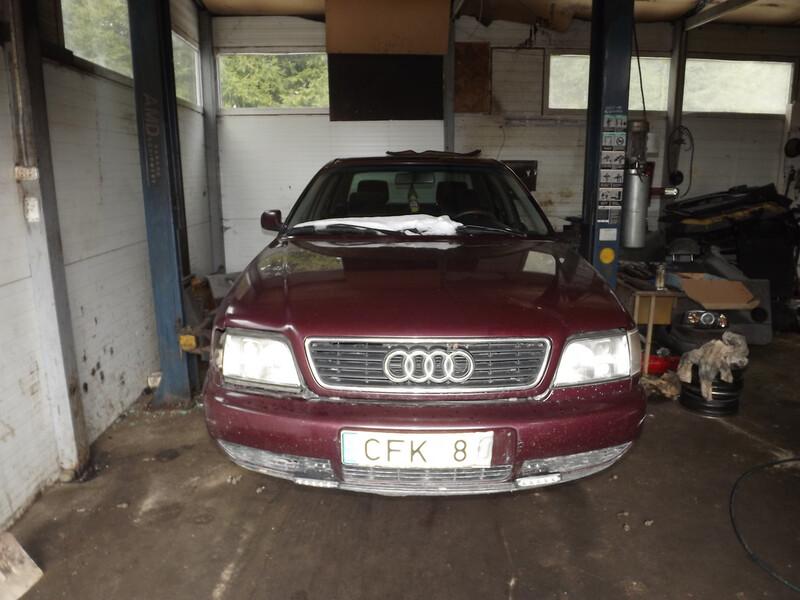 Audi A6 C4 2.6 VELIURAS, 1996m.