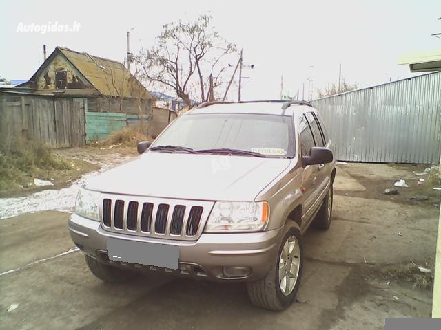 Jeep Grand Cherokee II, 2001m.