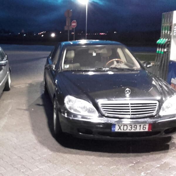 Mercedes-Benz S 500 W220 151000 rida , 2000m.