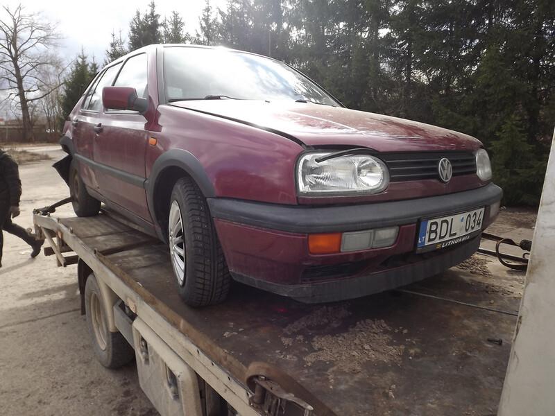 Volkswagen Golf III 1.8 MONO66KW, 1993m.