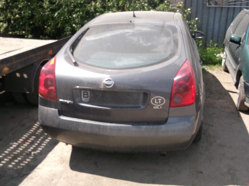 Nissan Primera P12 VARYKLIS DALIMIS, 2003m.