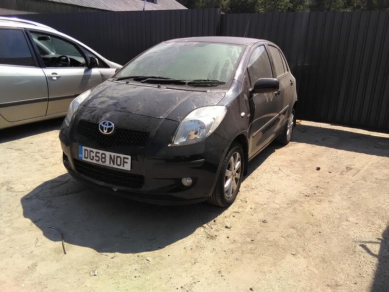 Toyota Yaris II, 2007y.