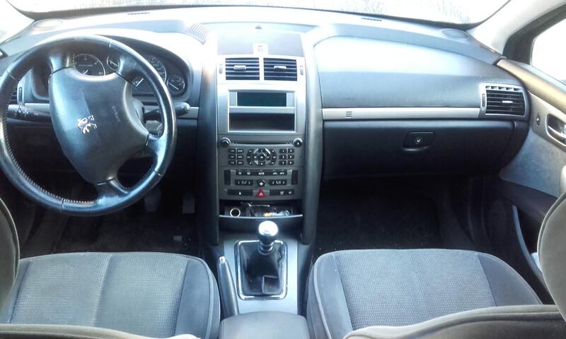 Peugeot 407 Tvarkingas, 2005m.