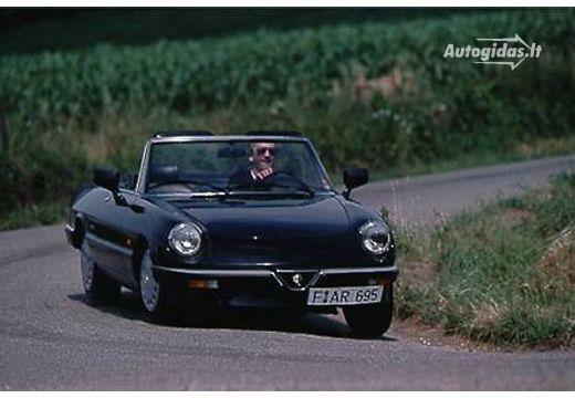 Alfa-Romeo Spider 1975-1987