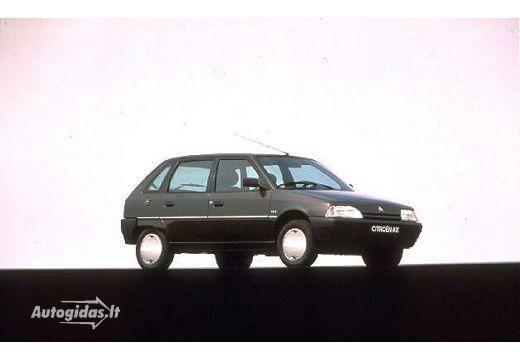 Citroen AX 1991-1992