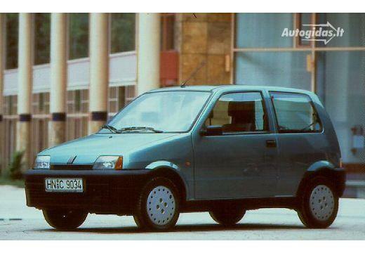 Fiat Cinquecento 1995-1996